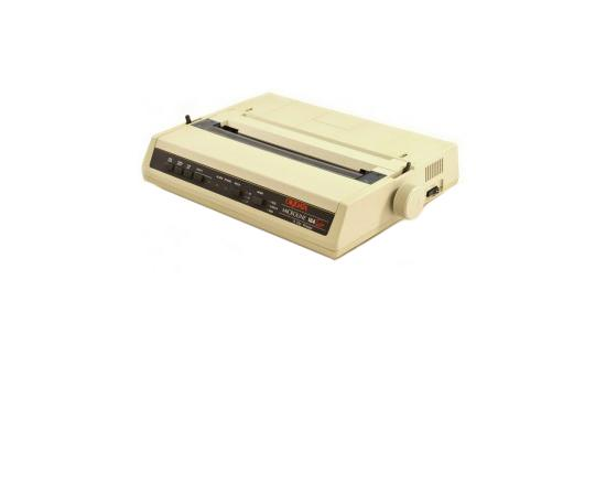 Okidata Microline 184 Turbo Parallel Dot Matrix Impact Printer (62408901) - Epson/IBM Emulation