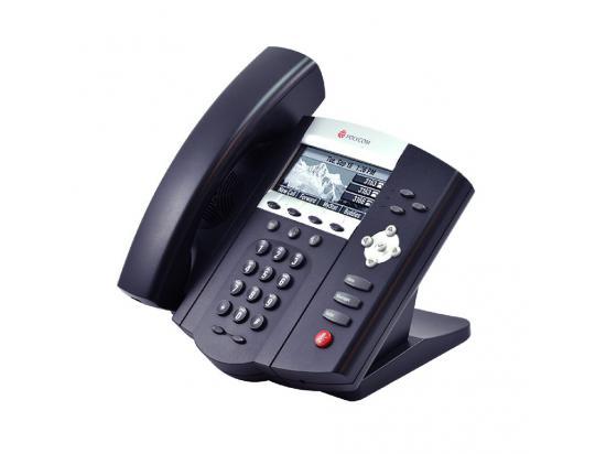 Polycom SoundPoint IP 450 VoIP PoE Phone (2201-12450-001) - Grade B