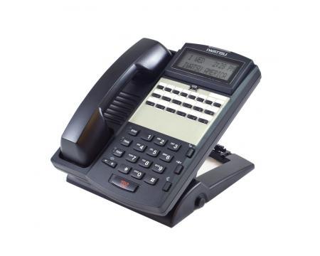 Iwatsu Omega-Phone ADIX IX-12KTD-3 Black Display Speakerphone (104204)