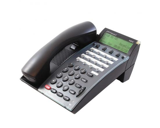NEC Dterm Series E DTP-16D-1 Black Display Speakerphone (590041)