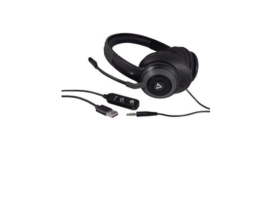 V7 HC701 USB-A Stereo Over-the-Ear Headset w/NC Mic