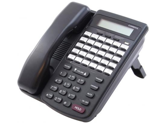 Comdial 7260-00 DX-80/120 HAC Black Display Telephone