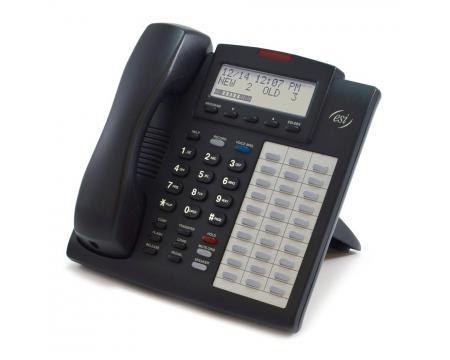 ESI 48 Key FD DFP Charcoal Full Duplex Speakerphone Backlit (5000-0531) - Grade A