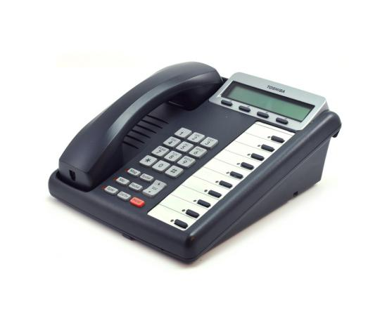 Toshiba Strata DKT3210-SD 10-Button Charcoal Display Speakerphone