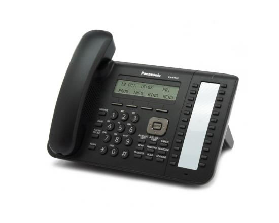 Panasonic KX-NT543-B 24-Buttons IP LCD Phone - Grade A