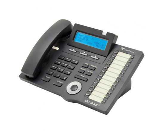 Vertical Vodavi SBX IP 320 (4024-00) 24-Button Digital Display Speakerphone - Grade A