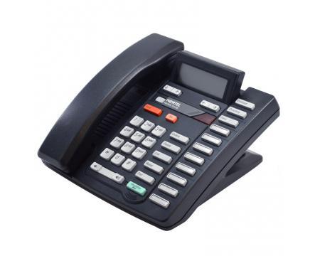 Nortel Aastra M9316CW Black Single Line Speakerphone w/ Call Waiting/Caller ID (NT2N18)