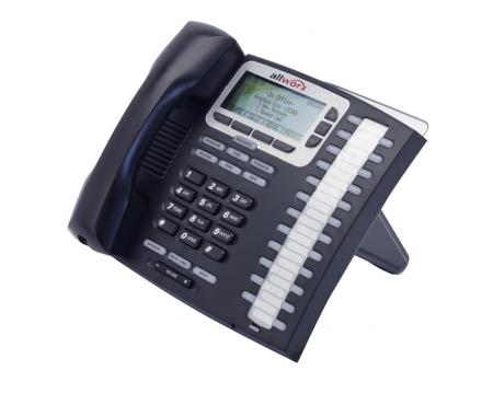 Allworx 9224P 24-Button Black IP Display Speakerphone - Grade A