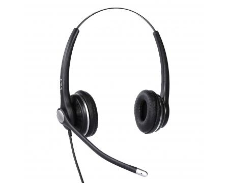 Snom A100D Wired Binural Headset with QD RJ9