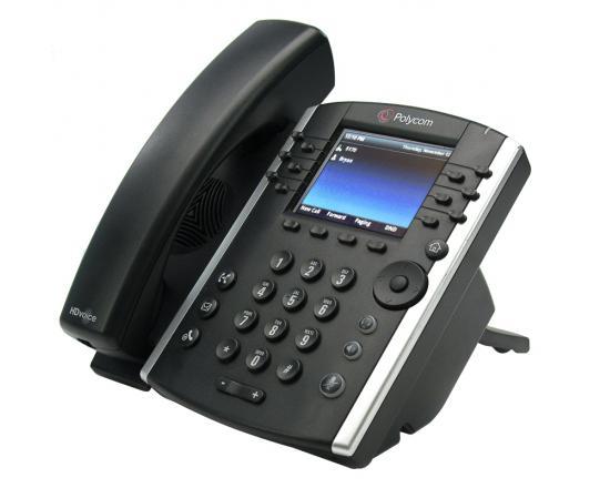 Polycom VVX 401 12-Line IP Phone (2200-48400-025, 2201-48400-001)  - Grade A