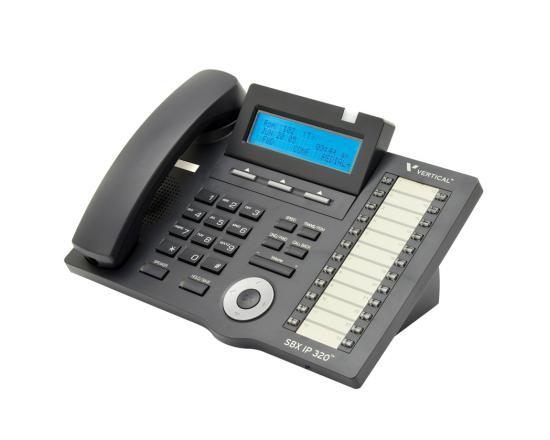Vertical Vodavi SBX IP 320 (4024-00) 24-Button Digital Display Speakerphone - Refurbished