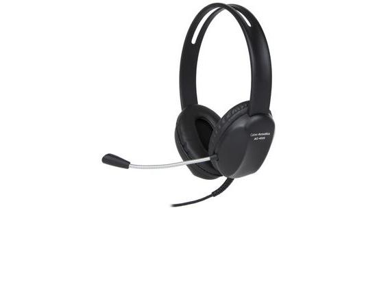 Cyber Acoustics AC-4006 USB-A Stereo Student/Classroom Headset