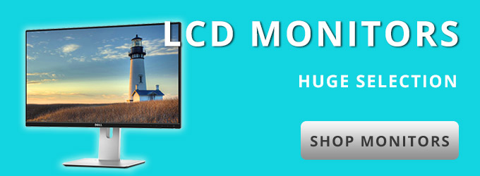LCD Monitors: Huge Selection