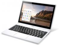 "Acer C720P 11.6"" Touchscreen Chromebook  Celeron (2955U) 1.4GHz 4GB DDR3 16GB SSD - White - Grade B"
