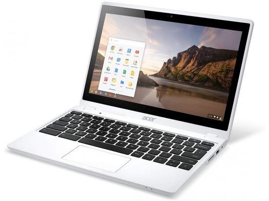 "Acer C720P 11.6"" Touchscreen Chromebook  Celeron (2955U) 1.4GHz 4GB DDR3 16GB SSD - White - Grade B"