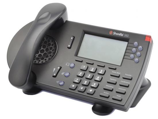 ShoreTel 560G Black IP Phone