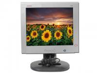 """Compaq 1720 17"""" Silver/Black LCD Monitor - Grade C - No Stand"""