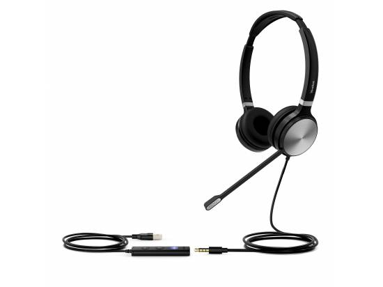 Yealink UH36 USB-A Wired Binaural Headset - Microsoft Teams