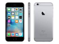 """Apple iPhone 6s A1688 4.7"""" Smartphone 128GB (WIFI + 4G) Bundle w/ Glass & Case - Space Gray"""