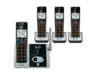 AT&T CL82413 (4) Cordless Phone Handset w/Answering System CID