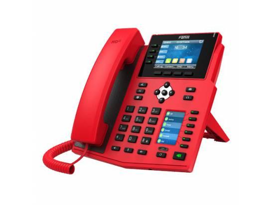 Fanvil X5U-R Red 16-Line Color IP Phone w/Bluetooth