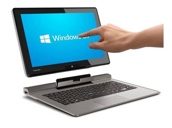 "Toshiba Portégé Z10t 11.6"" Touchscreen 2-in-1 Laptop i5-4210Y 1.5GHz 8GB DDR3 256GB SSD - Grade B"