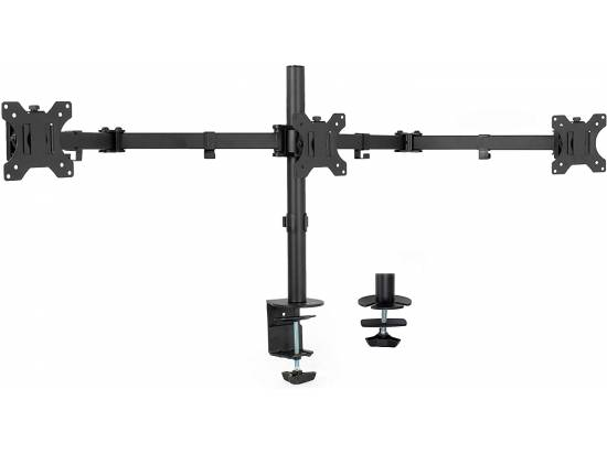 VIVO Triple Monitor Mount Articulating Stand (STAND-V003Y)