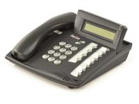 "Tadiran Coral Flexset 120D Charcoal Display Phone ""Grade B"""