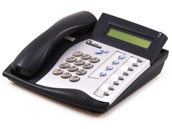 Tadiran Coral Flexset 120D Charcoal Display Phone - Silver Face