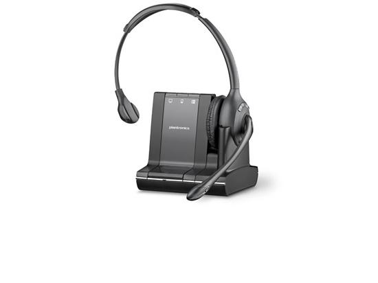 Plantronics W710 SAVI 3 in 1 Over-the-Head Wireless DECT Headset