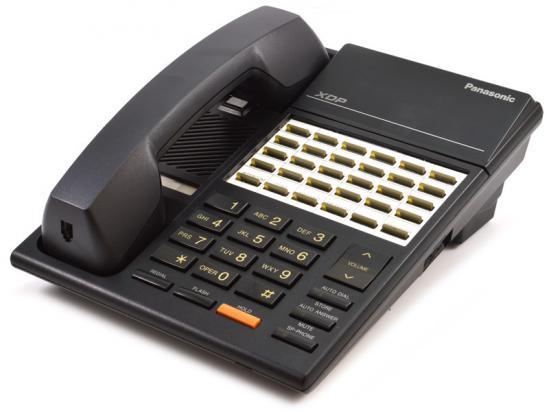"Panasonic XDP KX-T7220 Black 24-Button Digital Speakerphone ""Grade B"""