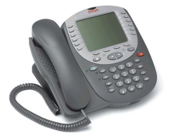 Avaya 5621SW 24-Button Black IP Display Speakerphone - Grade A