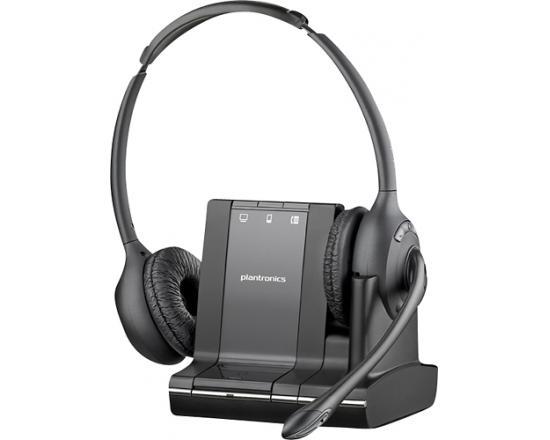 Plantronics SAVI W720 Over-the-Head Binaural Wireless Headset (83544-01) - Grade B