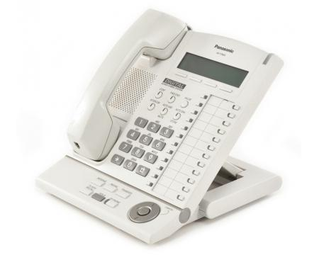 panasonic kx t7633 24 button digital display telephone white rh pcliquidations com Panasonic TV Manual Panasonic Technical Support