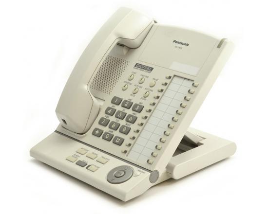Panasonic KX-T7625 Digital Proprietary Telephone with Speakerphone White