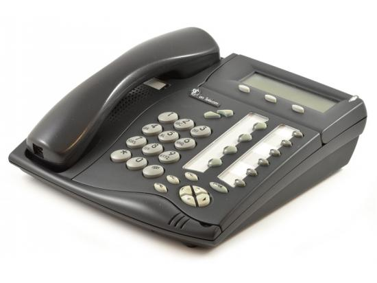 "Tadiran Coral Flexset 120S Charcoal Display Phone ""Grade B"""