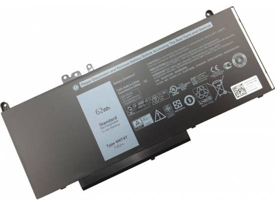 Dell Latitude E5270 7.4 Volt Li-Polymer Laptop Battery (6900mAh / 51Wh) New - Generic