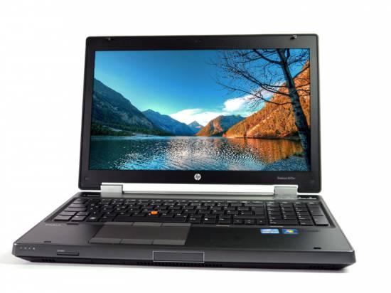 "HP EliteBook 8570w 15.6"" Laptop i7-3520M - Windows 10 - Grade A"