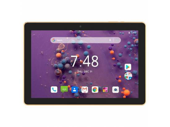 "Hyundai Koral 10X3 10.1"" Tablet RK3326C Quad Core 1.1GHz 32GB (Wi-Fi) - Gold"