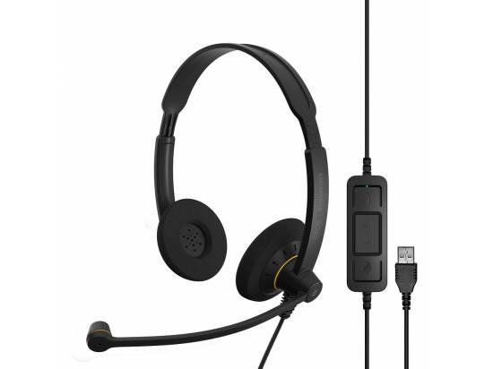 SENNHEISER EPOS SC 60 ML USB-A Dual-Sided Wideband Headset - Microsoft