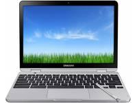 """Samsung Chromebook Plus LTE 12.2"""" Laptop Celeron 3965Y 1.50GHz 4GB LPDDR3 32GB Flash - Stealth Silver"""