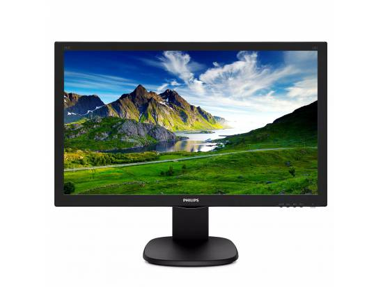 """Philips 243S5L 24"""" Full HD Widescreen LED Monitor - Grade A"""