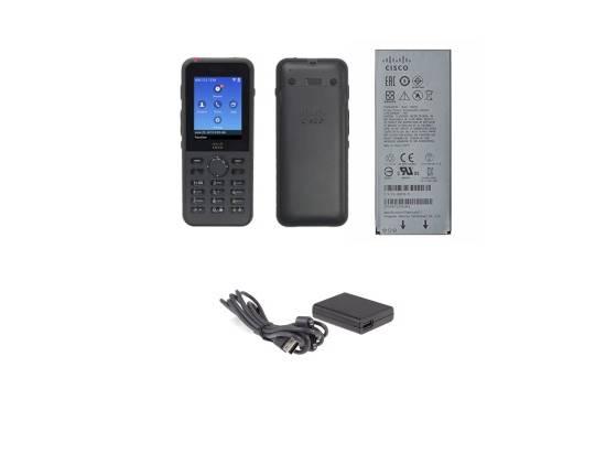 Cisco CP-8821-K9-BUN Black Wireless IP Phone with Battery (Bundle)