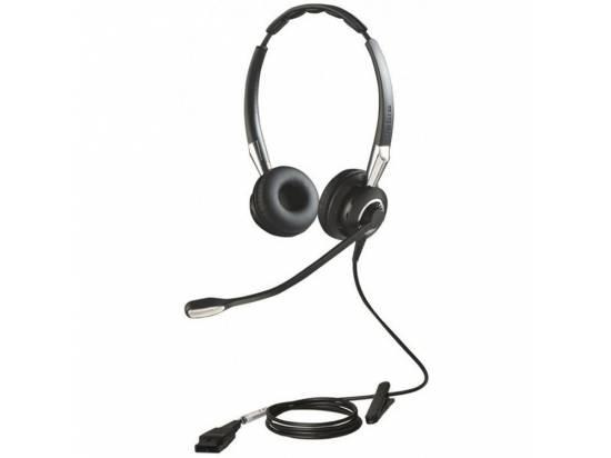 Jabra Biz 2400 II Duo Ultra-Noise-Canceling Binaural Headset - Grade A