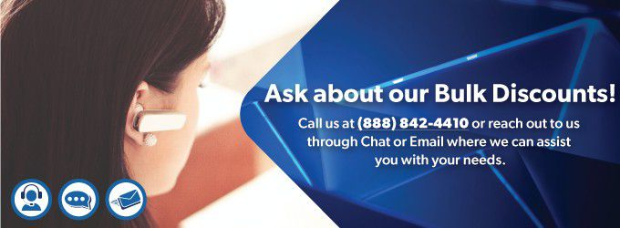 Ask about our bulk discounts