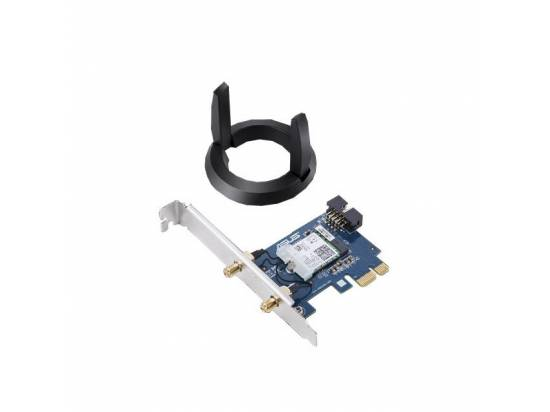 ASUS PCE-AC58BT AC2100 Dual-Band Bluetooth 5.0 PCI-Express 160MHz Wi-Fi Adapter