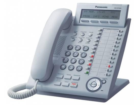 Panasonic KX-DT333-W White Digital Display Phone - Grade A