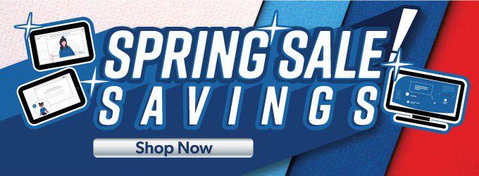 Spring Sale Savings
