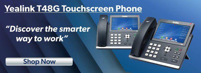 Yealink T48G 26-Button IP Touchscreen Phone