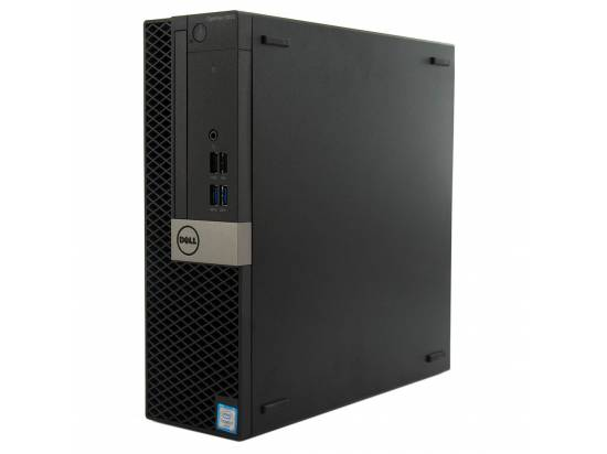 Dell Optiplex 5050 SFF Computer Intel Core i7 (6700) 3.4GHz 16GB DDR4 256GB SSD Windows 10 Pro